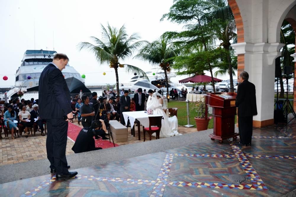 Pernikahan di Marina Batavia