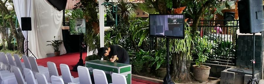 Sewa sound system Pamulang